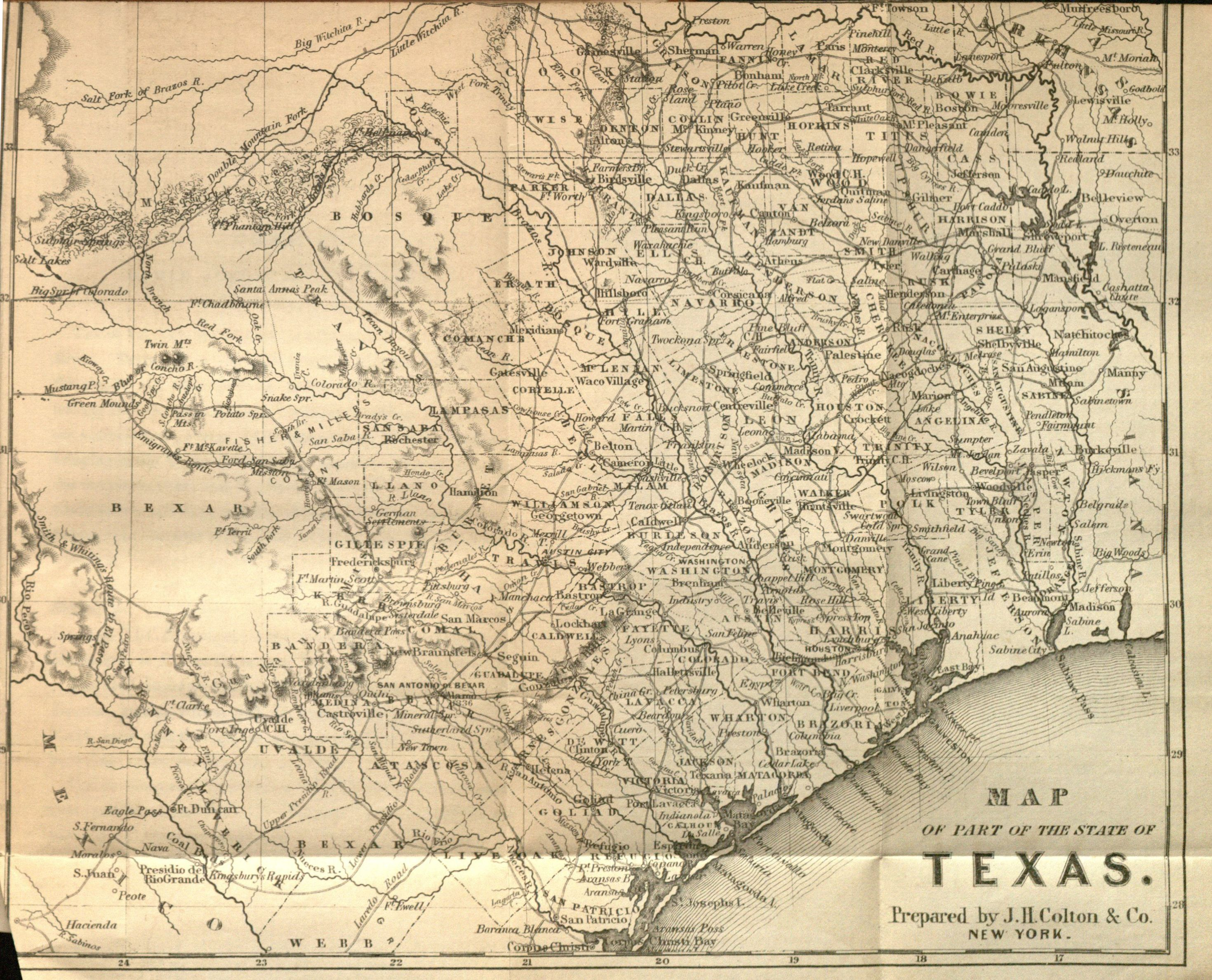 Travel Accounts and Emigrant Guides to Texas – Texas Travel Map