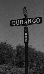 Durango Street Sign