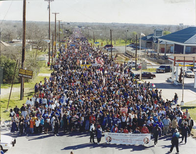 San Antonio MLK March 1989