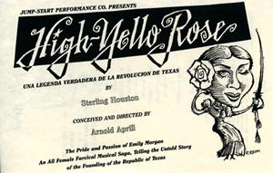 High-Yello Rose promotional brochure, undated
