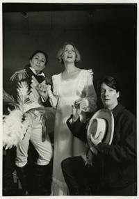 Veronica Gonzales, Kim Corbin, Katherine Griffith perform High-Yello Rose, 1992