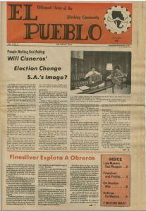 Issue of El Pueblo