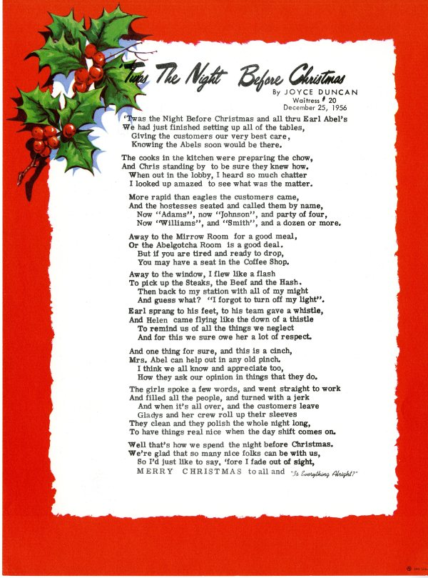 Twas The Night Before Christmas Printable Poem | Search Results ...
