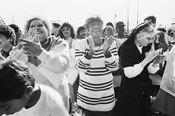 Freedom March participants, January 18, 1988. (MS 360: E-1988-1-18D-39)