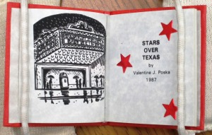 Stars Over Texas (1987) by Valentine J. Poska. UTSA Libraries Special Collections