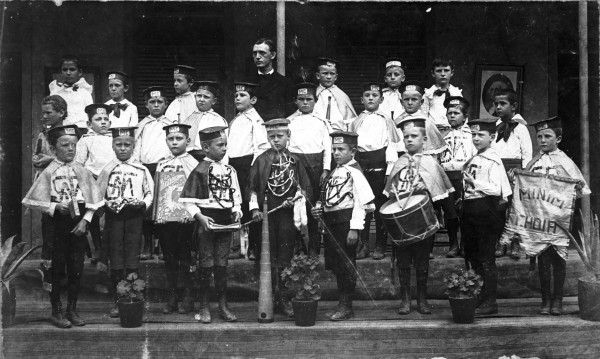 Minim Choir of St. Mary's Institute, 1880s.  (MS 362:  L-073-1195)