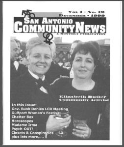 San Antonio Community News, December 1999, MS 394, Happy Foundation Archives Collection