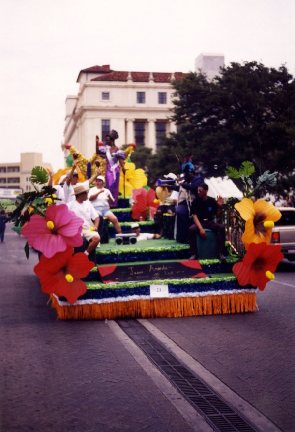 Float in San Antonio Pride Parade, 1998