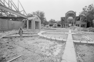 Construction of Plaza Guadalupe, September 26, 1984, MS 360