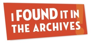 I Found it in the Archives logo