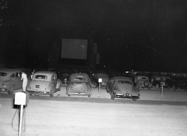 San Pedro Outdoor Theatre, 7142 San Pedro Avenue, May 1948.  (MS 359:  L-3571-H)