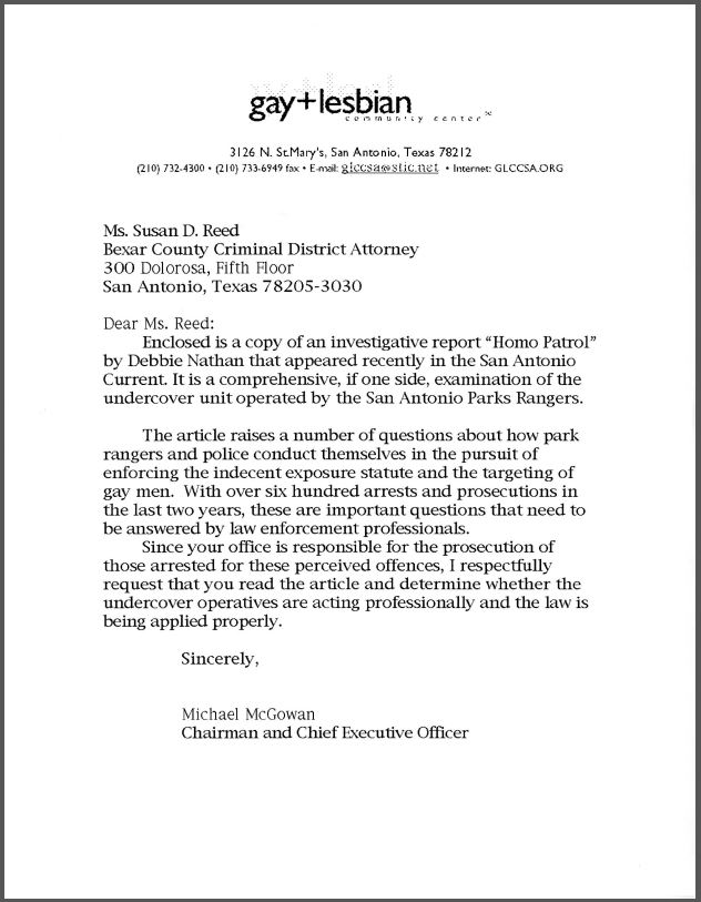 District attorney cover letter