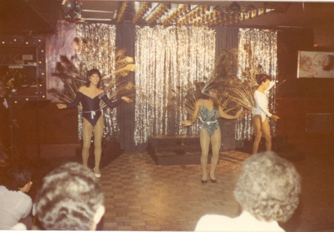 Floor show at the Broadway Cabaret, 1982