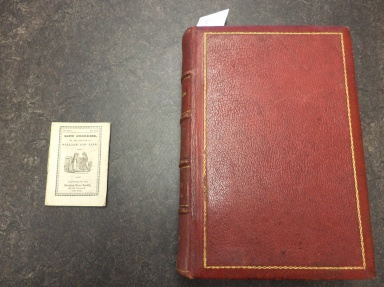Ripe Cherries...(18--) [uncataloged] (left) and El Romancero Nacional (1885) [PQ7297 .P8R7 1885] (right)