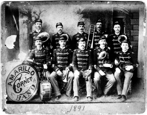Amarillo Cornet Band, 1891