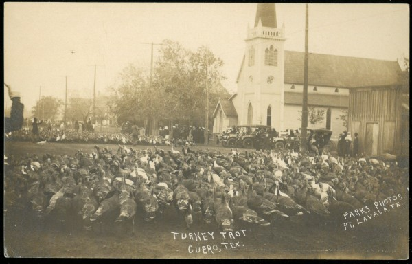 Turkey trot in Cuero, Texas, 1912, Francisco A. Chapa Family papers, MS 405