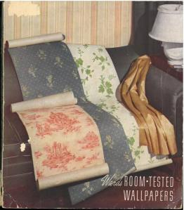 Wards Room-tested Wallpapers (1938)
