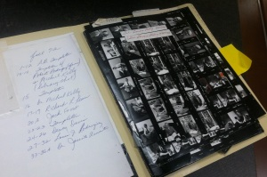 Gil Barrera contact sheets
