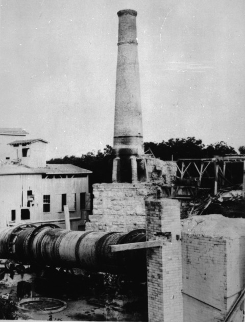 Alamo Cement Company, future site of the Japanese Tea Garden, circa early 1900s.  (General Photograph Collection MS 362: 109-0514)
