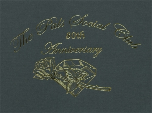 Pals Social Club 80th Anniversary booklet, MS 422