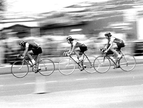 Fiesta Bike Ride, San Antonio, April 1979.