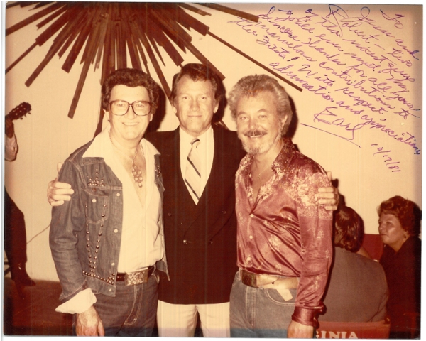 Jesse Duval, Earl Holliman, Robert Teander, 1981, MS 425, Pierre Duval Hair Studio collection