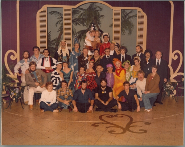 Cast and crew of The Boyfriend, 1978