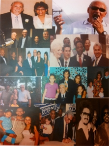 Photo collage, Retirement/Birthday Celebration program, March 2014, MS 142