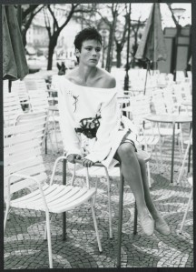 Model from March/April 1986 issue of the Forum, photographer Kelly Sims