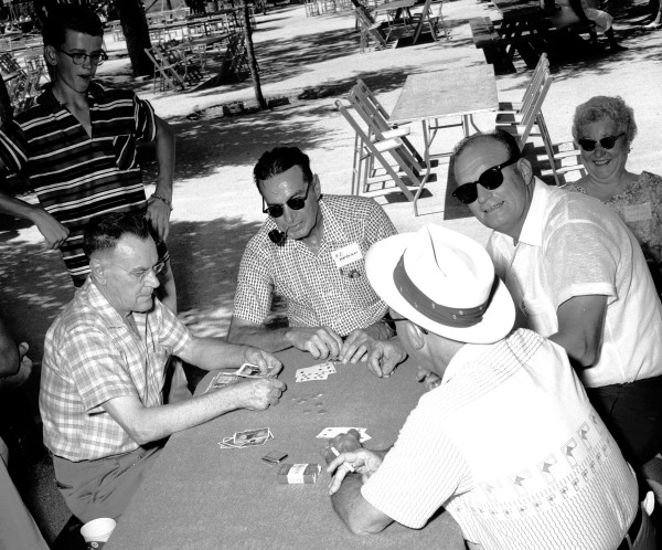 Card game, 1958.  (MS 355: Z-1807-B-6)