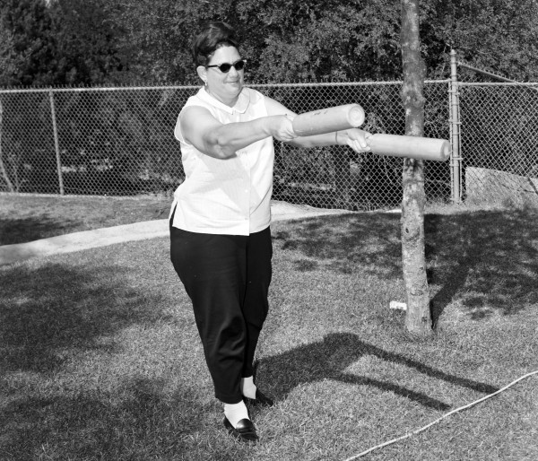 Rolling pin toss, 1967.  (MS 355: Z-1833-06)