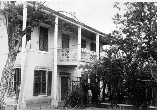 Tarde Hotel, Fiorella Street, circa 1940.  (MS 362:  107-0027)