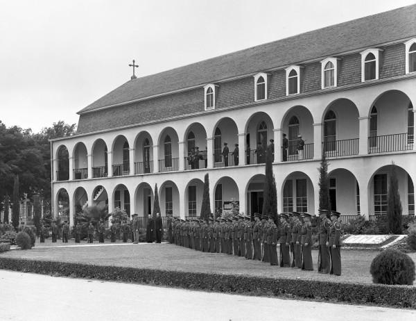 Moye Military School, London Street, early 1940s.  (MS 355:  Z-0310-A-2)