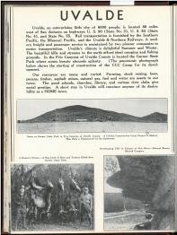The Century in Southwest Texas: A Pictorial Directory of Southwest Texas (1937) edited by Arthur J. Simpson. UTSA Libraries Special Collections.