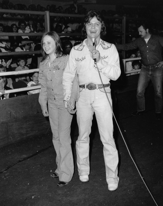 Celebrities Visit the San Antonio Stock Show and Rodeo ... Joe Freeman Coliseum