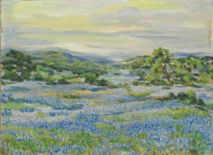 Cropped Bluebonnets