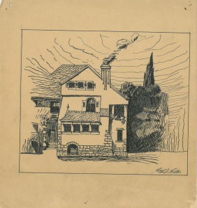 Cropped House by Alfred Giles