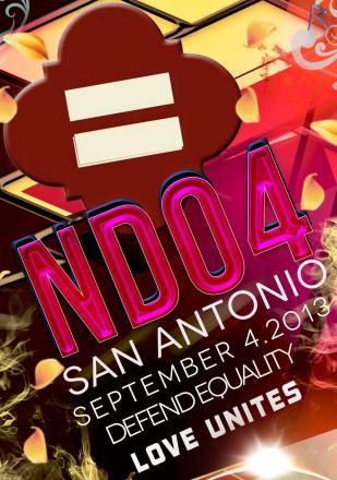 NDO4SA Visual for September, 4, 2013 rally