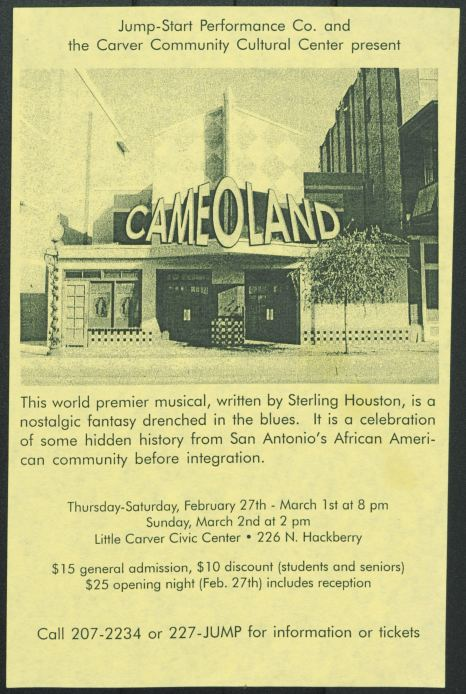Cameoland promotional material, 2003