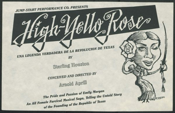 High Yello Rose promotional flier, 1992