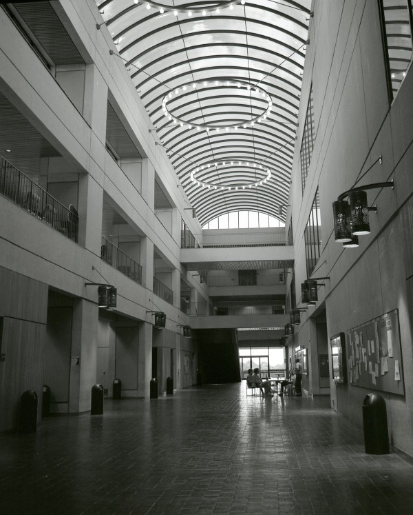 Humanities Building interior photograph