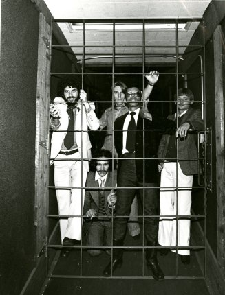 Sterling Houston and Fleshtones promotional photograph, undated