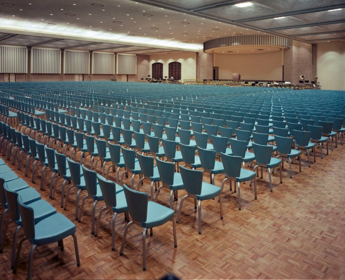 Convention Center Banquet Hall, March 1969. (Zintgraff Studio Photograph Collection, MS 355: Z-1103-B-118-9)