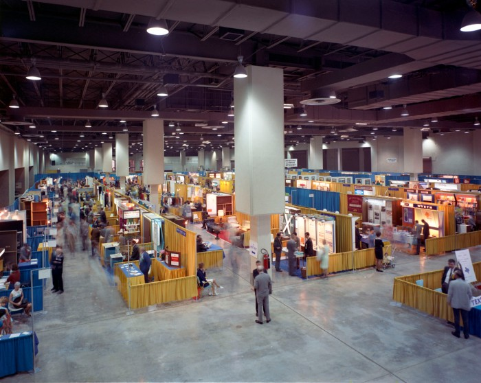 Exhibit Hall during National Decorator's Convention, May 1969. (Zintgraff Studio Photograph Collection, MS 355: Z-1103-C-28-32)