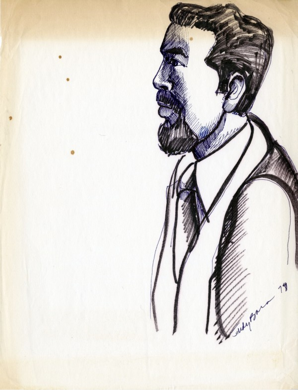 Portrait of Jacinto Quirarte by Judy Baca