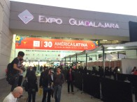 Main entrance to the Expo. The Fair is open to the public and the majority of visitors tend to be high school and college students. A large section of the Expo is devoted to FIL Niños, a separate fair with book vendors, programing and activities catering to young readers.