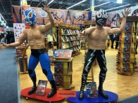 Artes de México exhibitor booth promoting their new publication on the history of Lucha Libre.