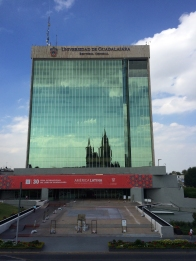The main sponsor of the Book Fair, University of Guadalajara