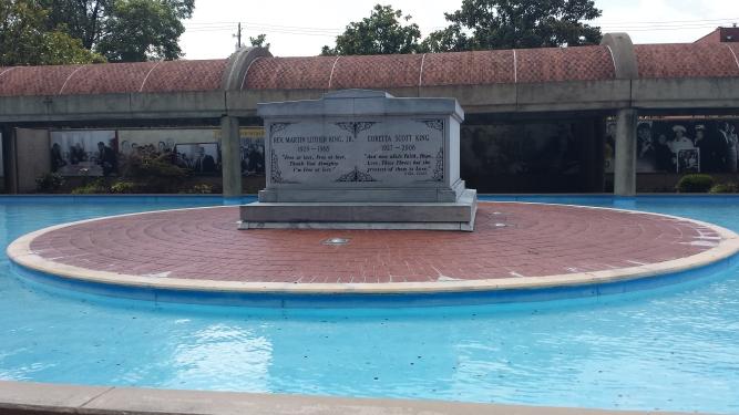 Crypt of MLK