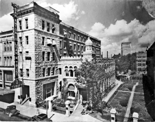 San Antonio Loan and Trust Company and San Antonio National Bank, ca. 1930-1935.